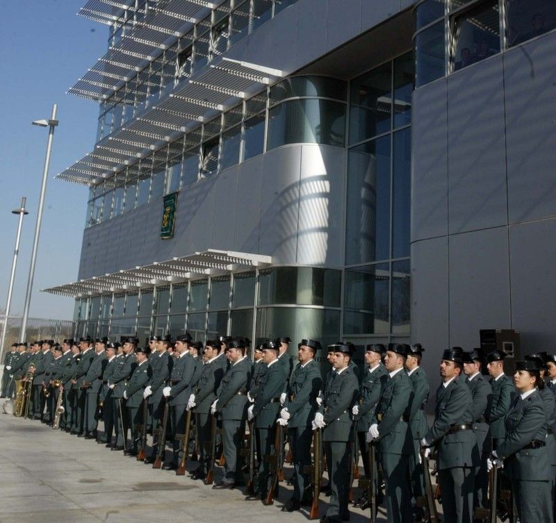 la guardia civil en cataluna: